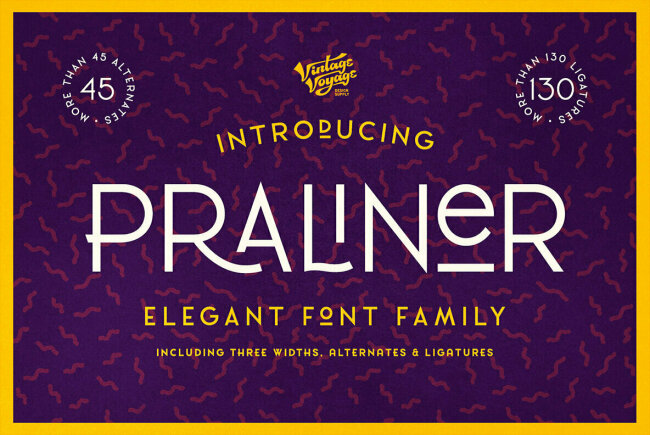 VVDS Praliner: Haute Couture in Text Form, New From Vintage Voyage Design