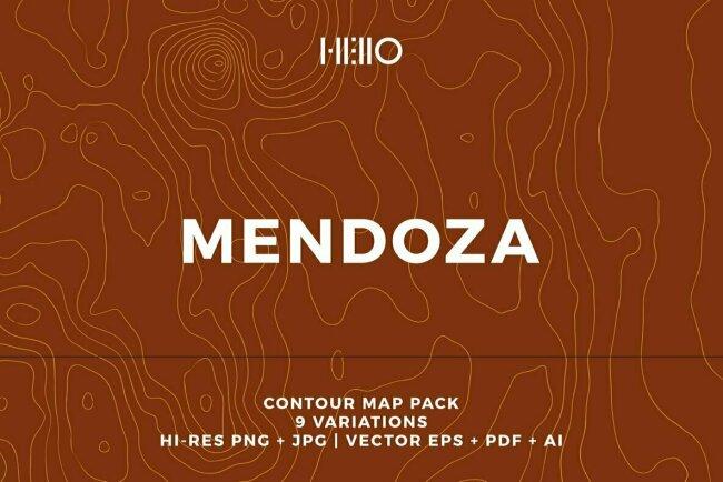 Mendoza Topographic Maps Celebrates Argentina's Wine Country