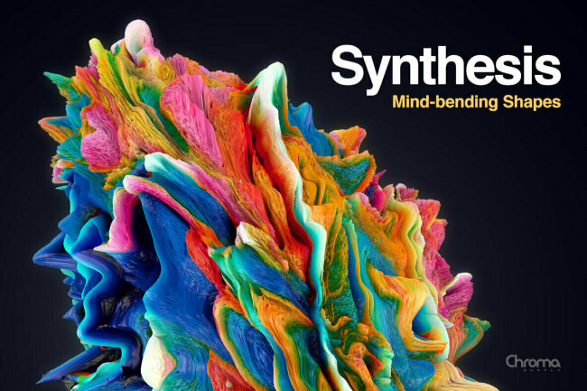 Synthesis – Mind-Bending Shapes Offer High-Resolution Color and Texture