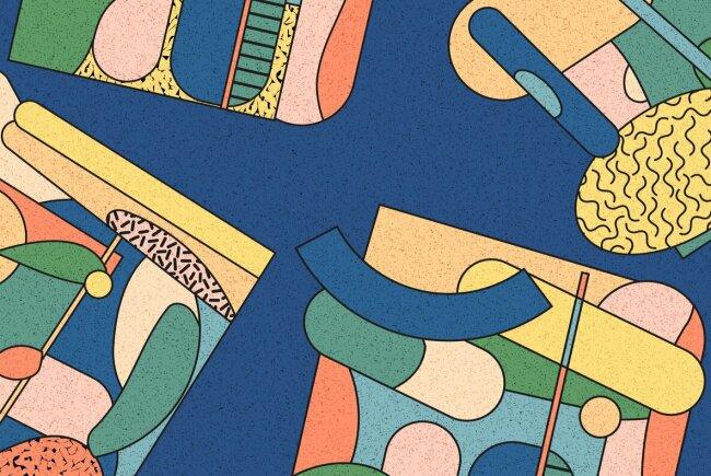 Danika: Modern Abstract Vector Illustrations From YouWorkForThem Design Studio