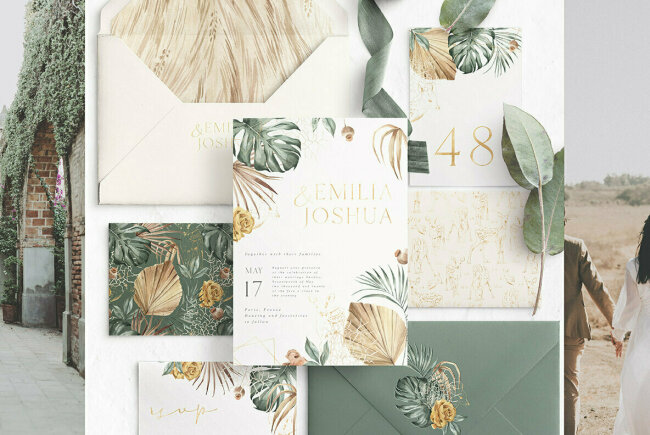 Modern Oasis Watercolor Collection: Beautiful Illustrations From Julia Dreams