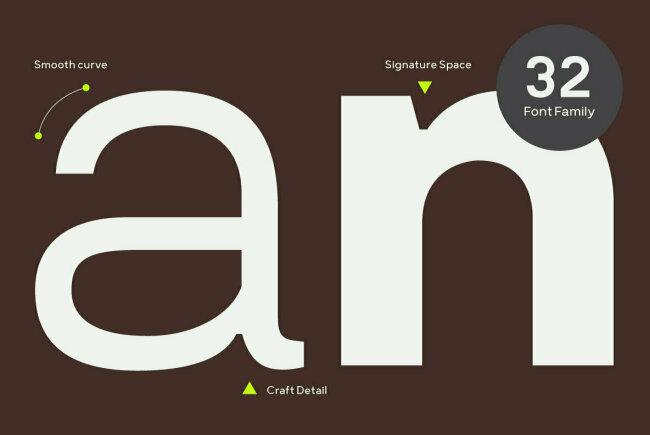 Prayuth: A Contemporary Sans Serif Family From Typesketchbook