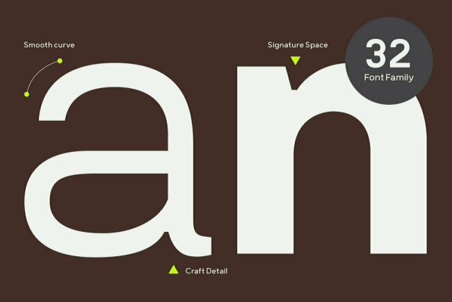 Prayuth: A Contemporary Sans Serif Family From Typesketchbook