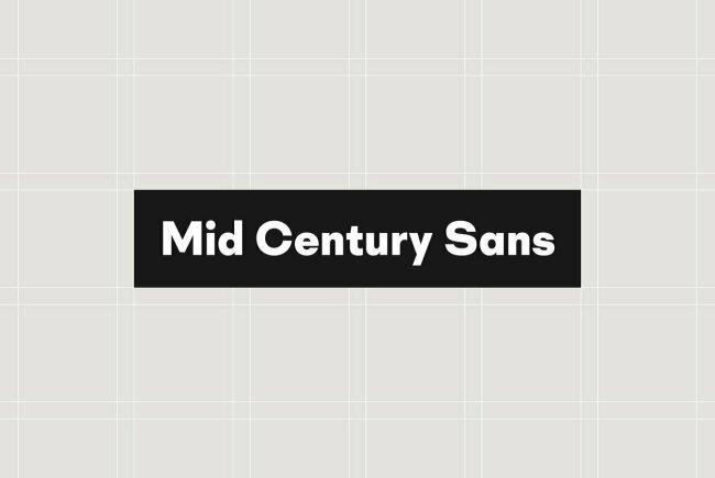 Mid Century Sans From Dharma Type Celebrates Bauhaus Movement