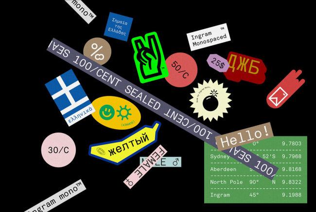Ingram Mono: The Debut Monospaced Sans Serif From Minor Praxis