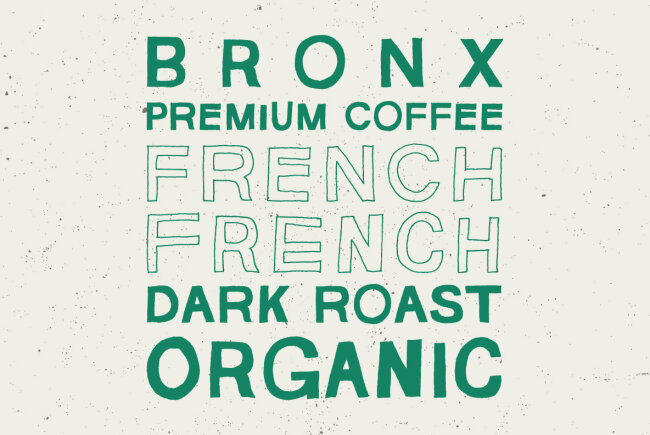YWFT HLLVTKA Brings an Organic and Casual Style to a Classic Sans Serif