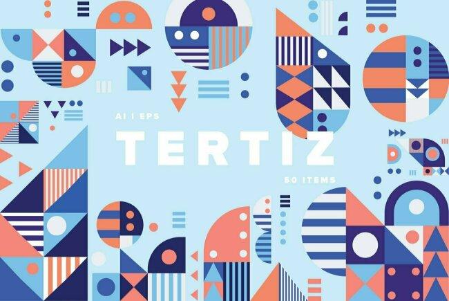 Tertiz: Geometric Patterns From YouWorkForThem Design Studio