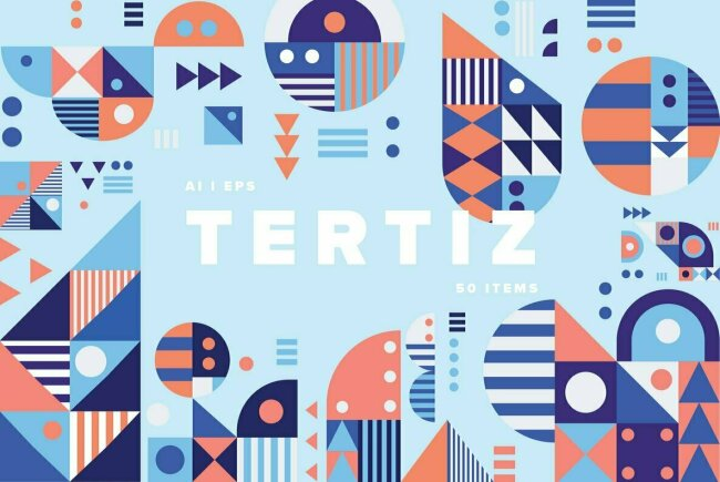 Tertiz: Geometric Patterns From YouWorkForThem Design Studio