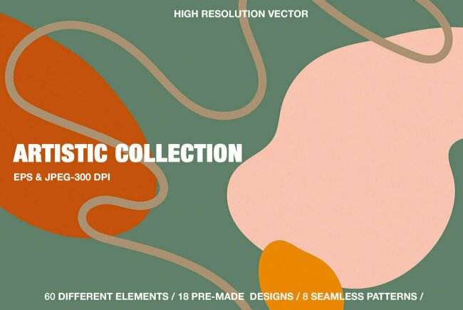 Contemporary & Fashion-Forward Abstract Design: Artistic Collection From Mii Lab