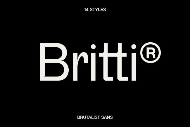 Britti Sans: A New Sans Serif Family From Nois