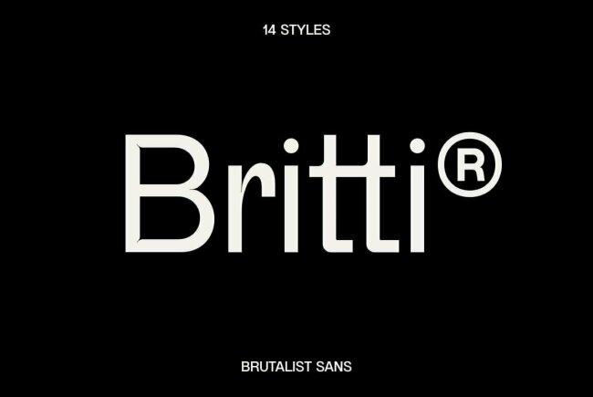 Britti Sans: A New Sans Serif Family From Nois