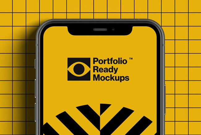 iPhone 11 Pro Standard Mockups From Portfolio Ready Mockups
