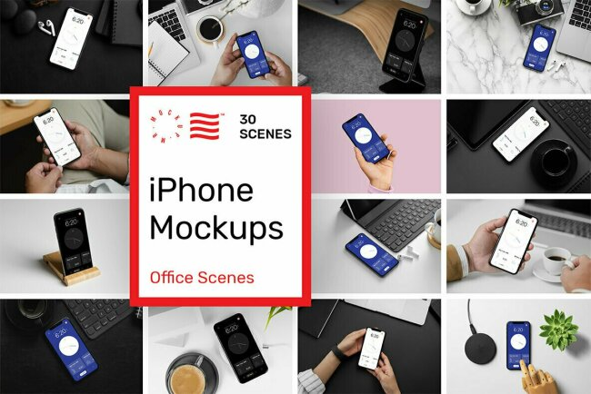 Create Finished Design Presentations With iPhone 11 Mockups Pack