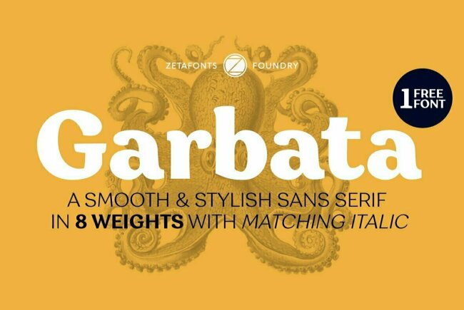 Newsletter Feature: New Fonts on Sale by Zetafonts, LatinoType & More!