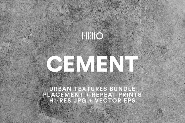 Cement Urban Textures: New From Hello Mart