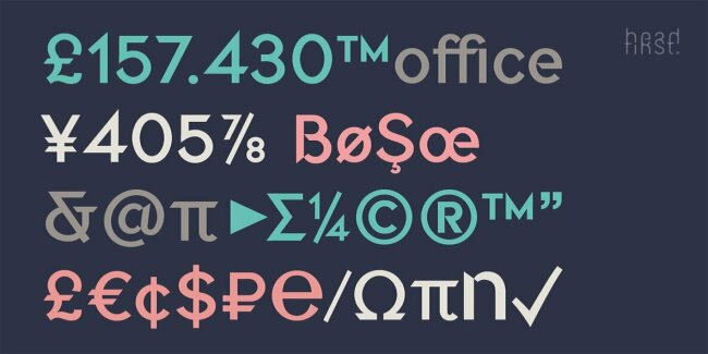 Briery: A Uniquely Crafted Sans Serif Font From Morice Kastoun