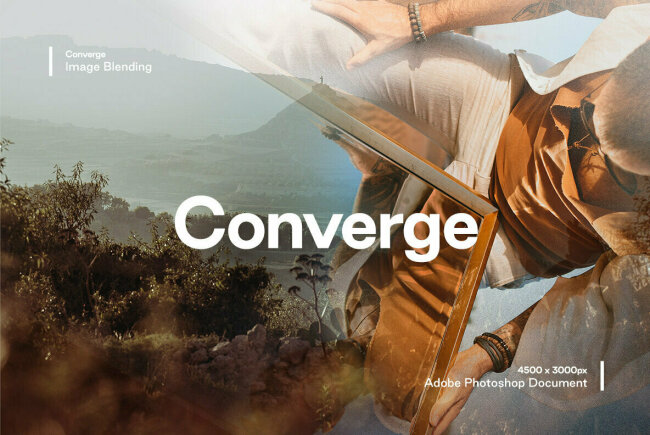 Converge: A Two-Step Blending Tool For Image Overlays From Studio 2AM