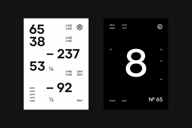 Gilmer: A Top-Ten Contemporary Sans Serif Family From Piotr Lapa