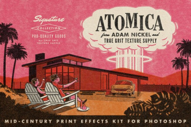Add Rich Vintage Texture With ATOMICA Mid-Century Effects Kit