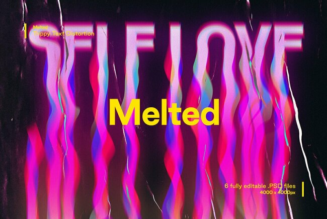 Create Psychedelic Text Effects With Melted From Studio 2AM