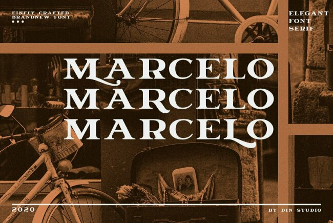 Marcelo: An Elegant Serif Display Type From Din Studio
