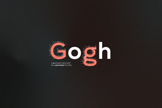 Font Feature of the Month: Gogh, The Debut Type Design From Spacetype Ltd.