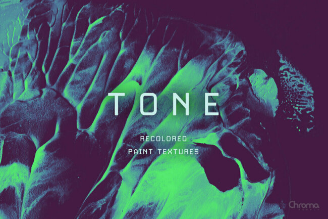Tone — Recolored Paint Textures: A Subdued & Dreamy Collection From Chroma Supply