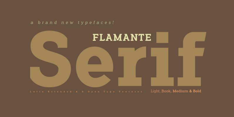 Flamante Serif