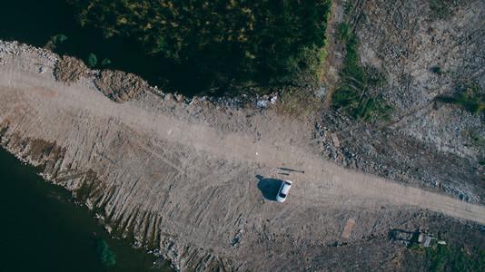 Drone Terrain Aerial Photo