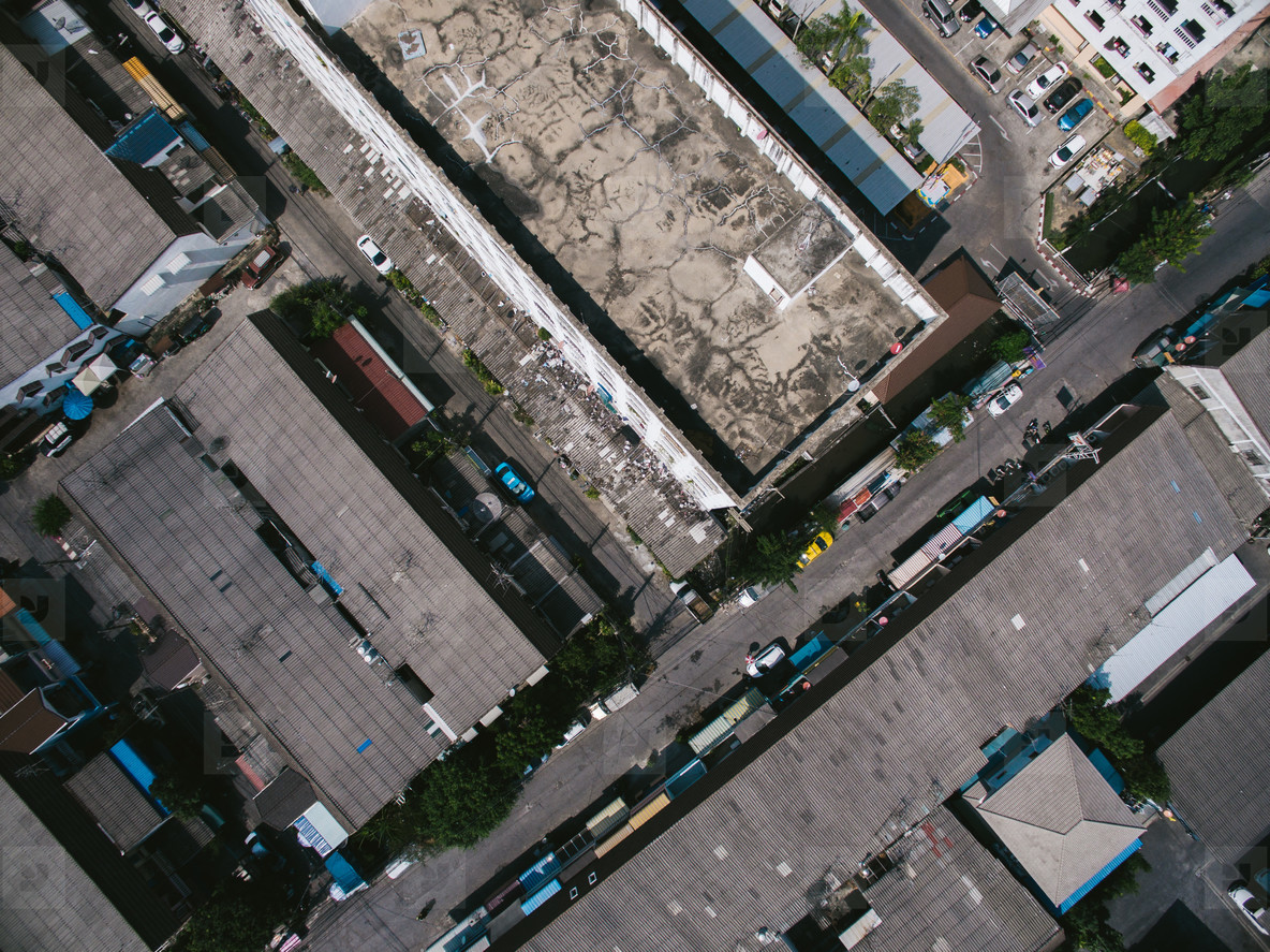 Bangkok Housing via Drone