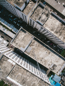 Bangkok Housing via Drone