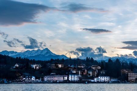 Evening at the lake
