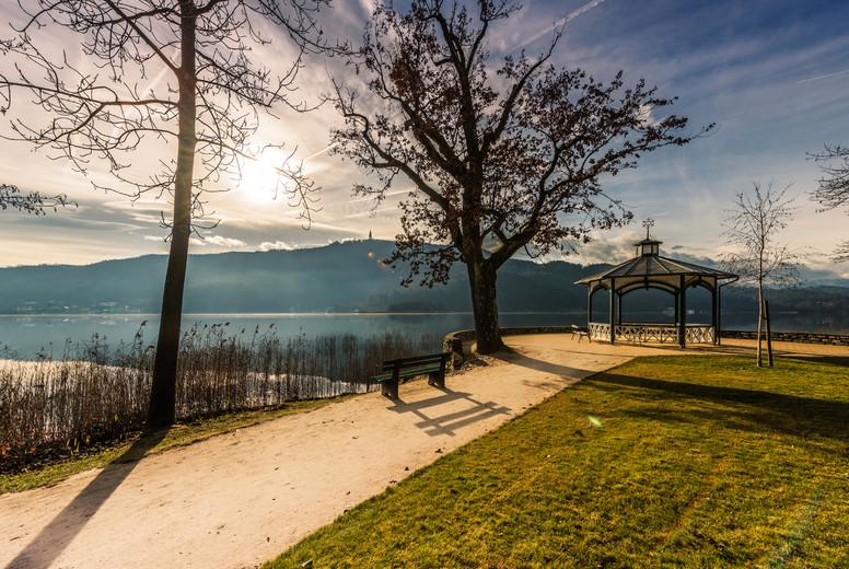 Autumn in Corinthia   lake