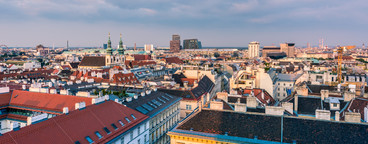 Over the roofs of vienna