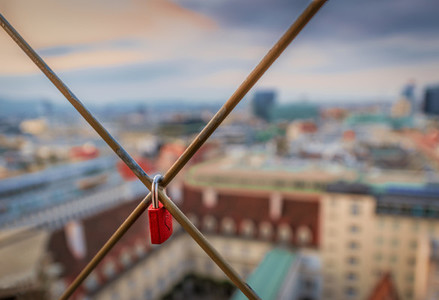 Love over the roofs of vienna