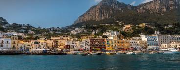 View to the coast   capri
