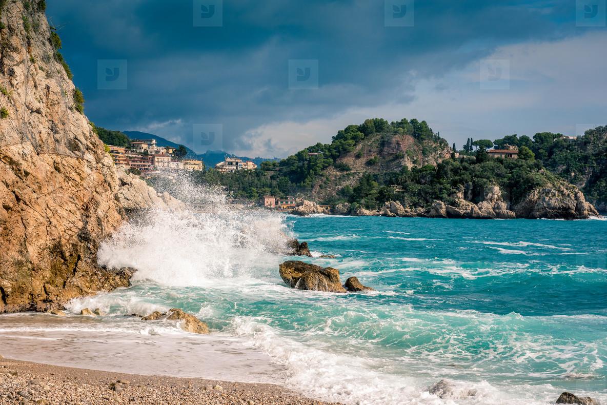 Sycily   beach view