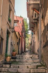 Dreamy streets of sycily