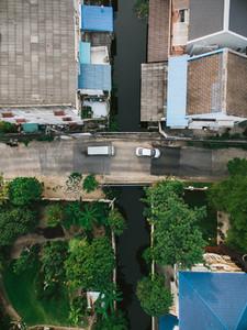 Bangkok Suburbs via Drone