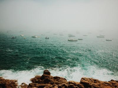 Mist in Tossa de Mar