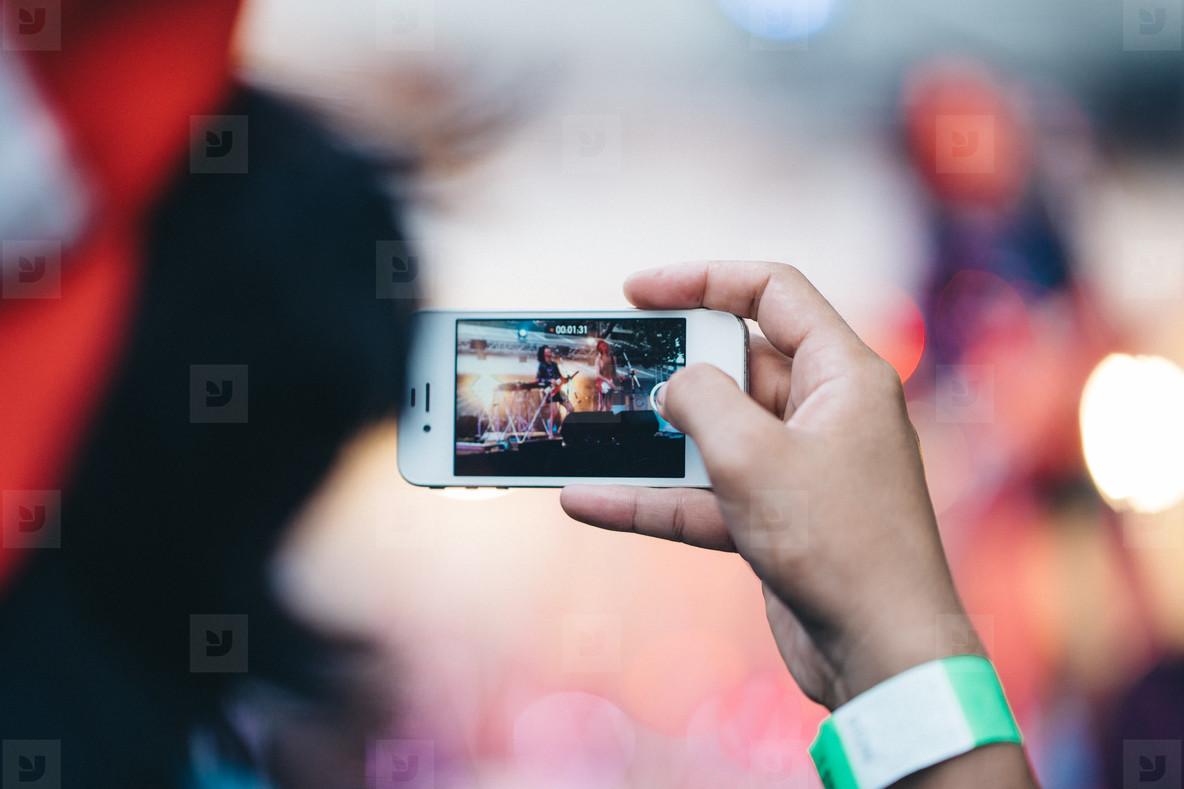 Concert iPhone Photographer