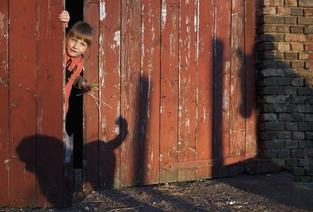 A Girl On A Farm 16