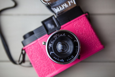 Retro Pink Camera