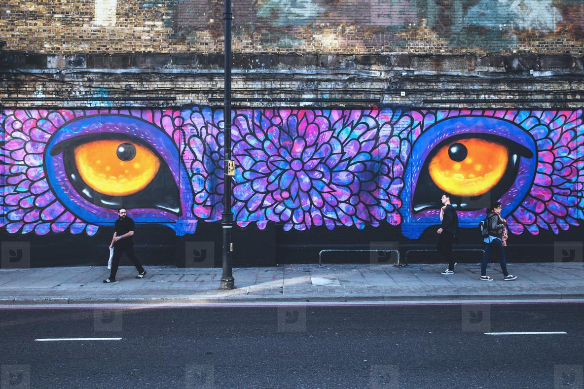Street Art Eyes