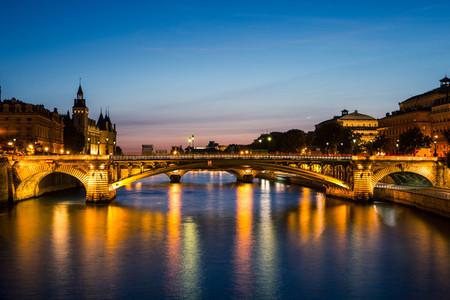 River Seine Sunset