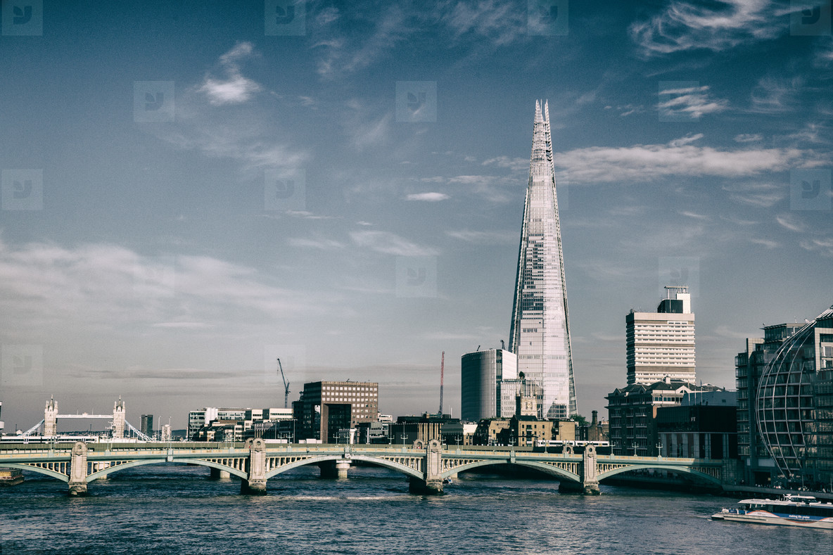 Shard Skyline in London