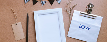 Photo frame mockup and craft