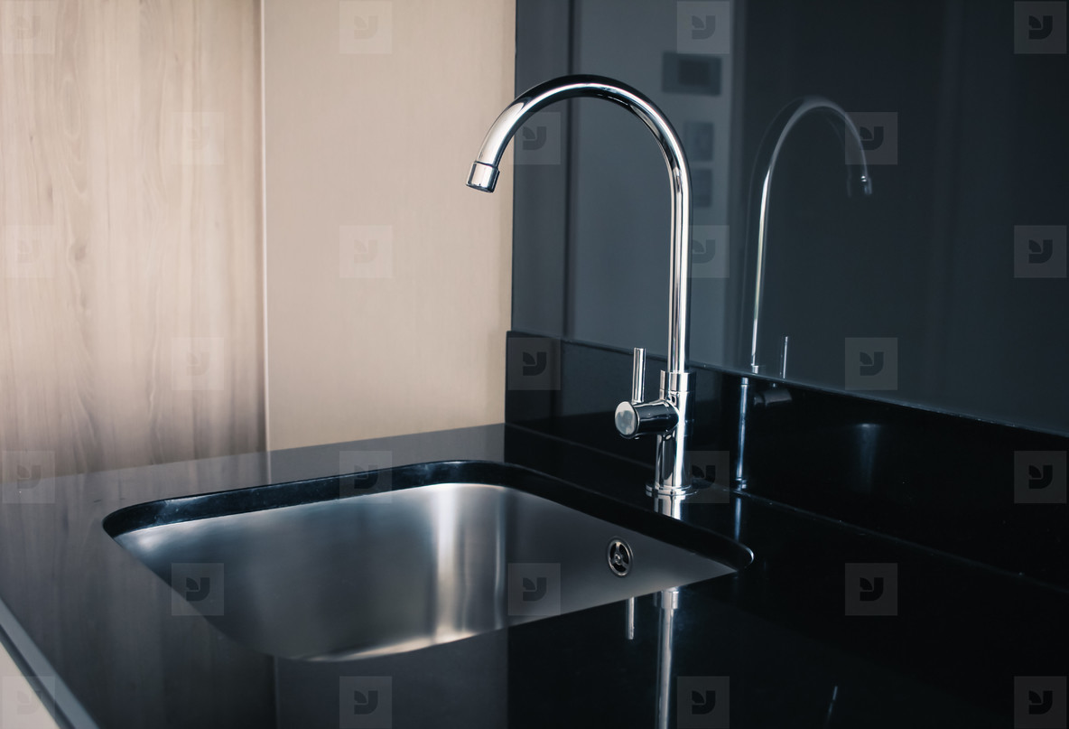 Modern stainless sink