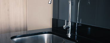 Modern stainless sink
