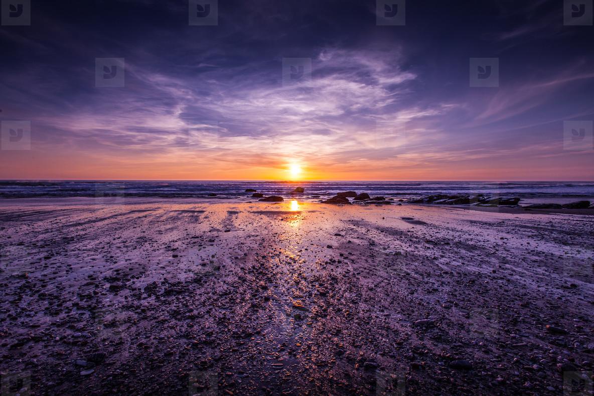 Atlantic Coast Sunset